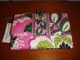 Vera Bradley Priscilla Pink Small Kisslock Wallet - $29.99