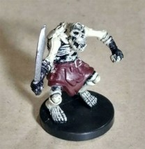 Dungeons & Dragons Miniatures Orc Skeleton #55 D&D Mini Collectible Wizards! - $4.99