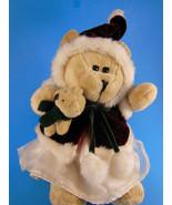 Starbucks Bearista Plush Christmas Girl with Teddy  43nd Edition 2005 CUTE! - $9.00