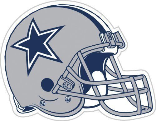 """DALLAS COWBOYS (HELMET) *BIG* 12"""" MAGNET CAR AUTO FRIDGE METAL NFL FOOTBALL"""