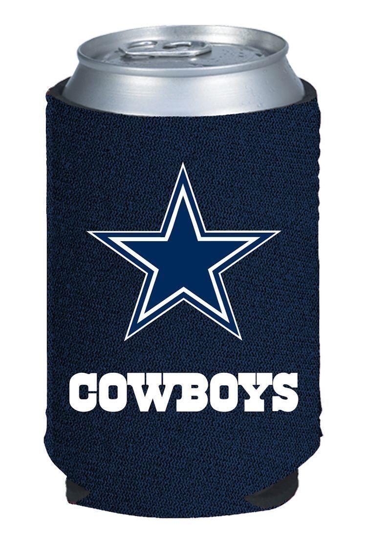 DALLAS COWBOYS BEER SODA WATER CAN BOTTLE KOOZIE KADDY HOLDER NFL FOOTBALL