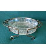 Princess House Crystal Glass Round Cake Casserole Baking Dish Pan Servin... - $29.99
