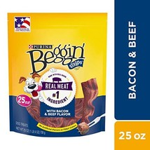 Purina Beggin' Strips Made in USA Facilities Dog Training Treats, Bacon ... - $55.38 CAD