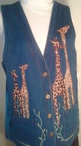 Giraffe denim vest 1 thumb200