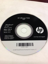 HP OFFICEJET 7000 E809 SOFTWARE CD P/N C9299-10001 - $7.00