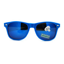 Bright Neon Colorful Mirror Lens Horn Rim Sunglasses - $5.95