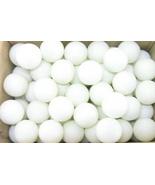 144 Ping Pong Table Tennis Balls White 1 Gross Beer - $9.75
