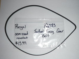 Regal Bread Maker Machine Toothed Gear Belt for model K6783 (used) - $13.09