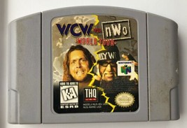 ☆ WCW vs NWO World Tour (Nintendo 64 1997) AUTHENTIC N64 Game Cart Teste... - $8.97