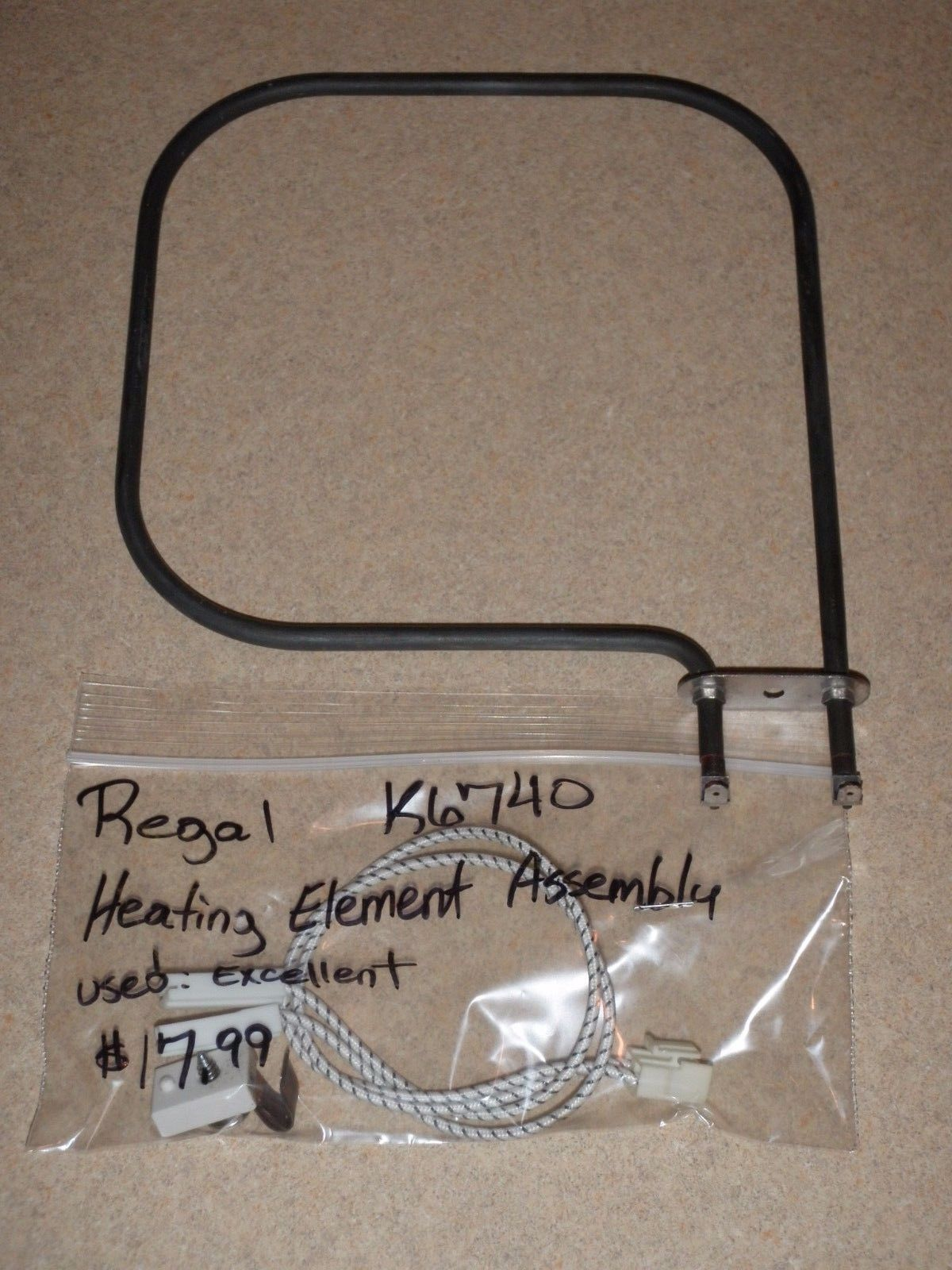 Regal Bread Machine Heating Element Assembly K6740 (BMPF)
