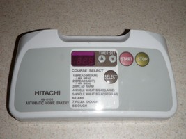 Hitachi Bread Machine Control Panel HB-D103 - $28.04