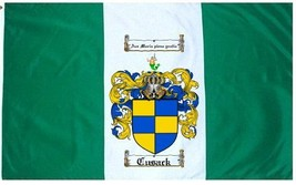Cusack Coat of Arms Flag / Family Crest Flag - $29.99