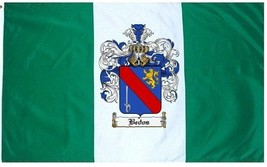 Bedos Coat of Arms Flag / Family Crest Flag - $29.99