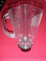 Oster Osterizer Plastic Blender Jar & Base/Blade Assembly 6 Cups 1.5 Liters - $22.43