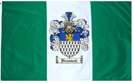 Bramwell Coat of Arms Flag / Family Crest Flag - $29.99