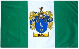 Buffin Coat of Arms Flag / Family Crest Flag - $29.99
