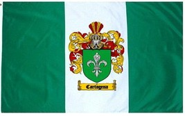 Cartagena Coat of Arms Flag / Family Crest Flag - $29.99