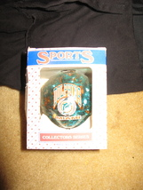 Sports Collectible Glass Ornament (Miami Dolphins) - $9.00