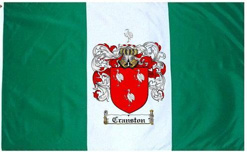Cranston-crest Coat of Arms Flag / Family Crest Flag