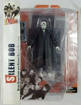 Diamond Select Clerks Silent Bob Black & White Action Figure Damaged Pac... - $29.02