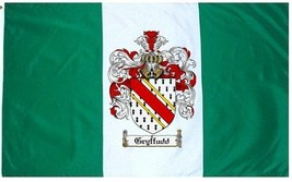 Gryffudd Coat of Arms Flag / Family Crest Flag - $29.99