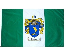 Hoover Coat of Arms Flag / Family Crest Flag - $29.99