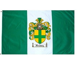 Houssey Coat of Arms Flag / Family Crest Flag - $29.99