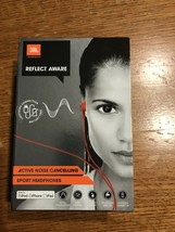 JBL Reflect Aware in-ear sport headphones with lightning (red) Brand New In Box
