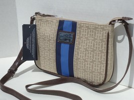 New! Saddle Alpaca [Tommy Hilfiger] Shoulder Jacquard Small X Body Bag  - $51.31
