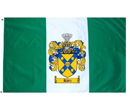 Kurz Coat of Arms Flag / Family Crest Flag - $29.99