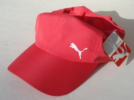 NEW! PUMA Women's Golf  Hat Lt-Wt Polyester Tennis Running Ball Day Cap - $25.13
