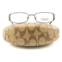 COACH 5019 9085 Eyeglasses Dark Silver 52 16 135  without case finish line - $60.80
