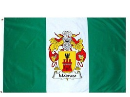 Madrazo Coat of Arms Flag / Family Crest Flag - $29.99