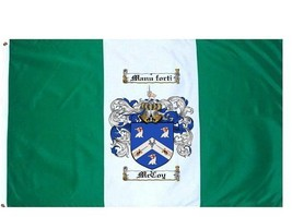 Mccoy Coat of Arms Flag / Family Crest Flag - $29.99