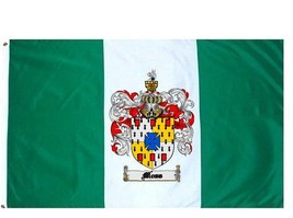 Moss Coat of Arms Flag / Family Crest Flag - $29.99