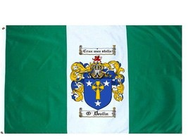 O'Devlin Coat of Arms Flag / Family Crest Flag - $29.99