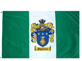 Pignataro Coat of Arms Flag / Family Crest Flag - $29.99