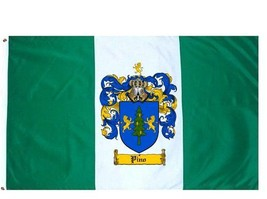Pino Coat of Arms Flag / Family Crest Flag - $29.99