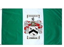 Preece Coat of Arms Flag / Family Crest Flag - $29.99