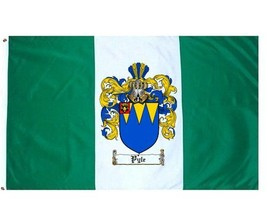 Pyle Coat of Arms Flag / Family Crest Flag - $29.99