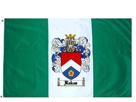 Rakus Coat of Arms Flag / Family Crest Flag - $29.99