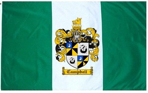 Campbell Coat of Arms Flag / Family Crest Flag
