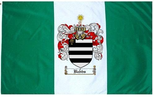 Babbs Coat of Arms Flag / Family Crest Flag - $29.99