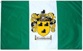 Crookshanks Coat of Arms Flag / Family Crest Flag - $29.99