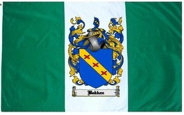 Bakken Coat of Arms Flag / Family Crest Flag - $29.99
