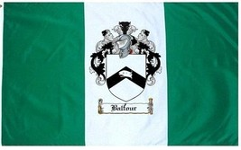 Balfour Coat of Arms Flag / Family Crest Flag - $29.99
