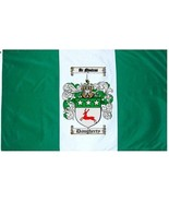 Daugherty Coat of Arms Flag / Family Crest Flag - $29.99
