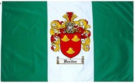 Bardon Coat of Arms Flag / Family Crest Flag - $29.99
