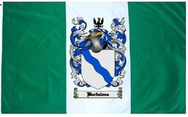 Bartalone Coat of Arms Flag / Family Crest Flag - $29.99
