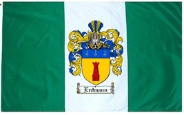 Erdmann Coat of Arms Flag / Family Crest Flag - $29.99